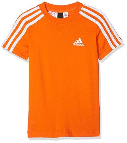 Adidas bambini 3strisce maglietta, bambini, cf6578, arancione/bianco, 176