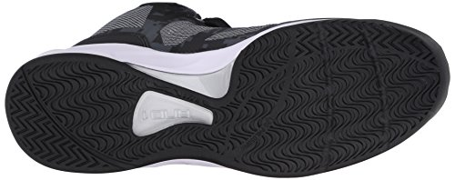 AND1 Xcelerate 2, Baskets homme Noir - Schwarz (Black/Silver-White)