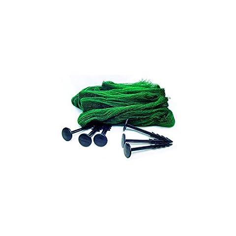 Filet 3X4 anti héron et anti feuilles pour bassins de jardin et étangs