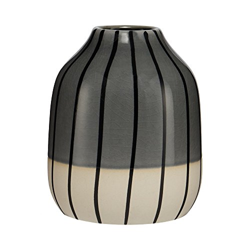 Ben De Lisi Home Grey Striped Small Vase From Debenhams Buy Online