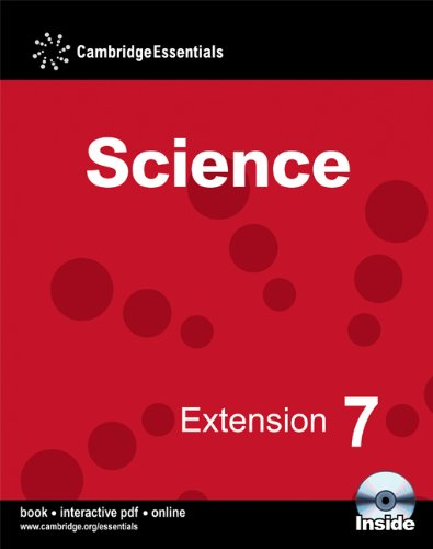 Cambridge Essentials Science Extension 7 Camb Ess Science Ext 7 w CD-ROM: No. 7