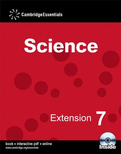 Cambridge Essentials Science Extension 7 Camb Ess Science Ext 7 w CD-ROM: No. 7 por Sam Ellis