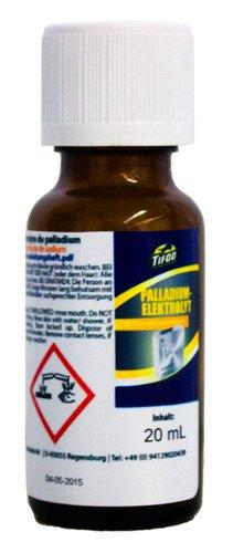 Palladiumelektrolyt (20 ml), Ersatz für Vernickeln, Grundlage für das Vergolden – Ideale Sperrschicht