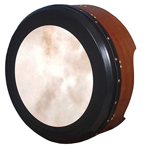 "16\""x6\"" Heartland Irish Bodhran Rosewood Tunable, Irish Bodharn Drum, Irish Drum"
