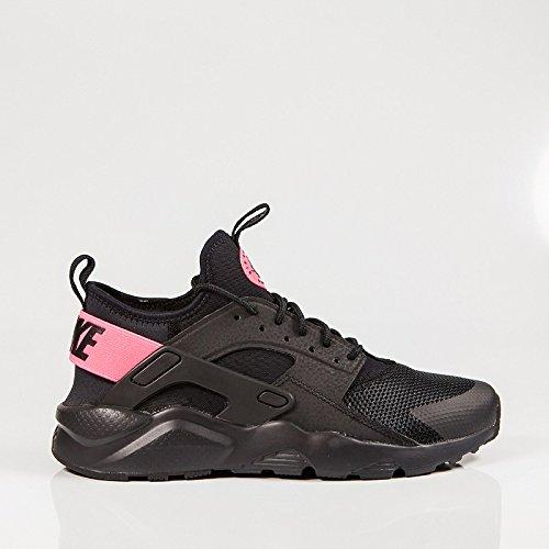 Nike Mädchen Air Huarache Run Ultra GS Laufschuhe, Black