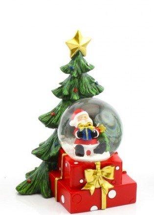 Père Noël LED Boule de neige