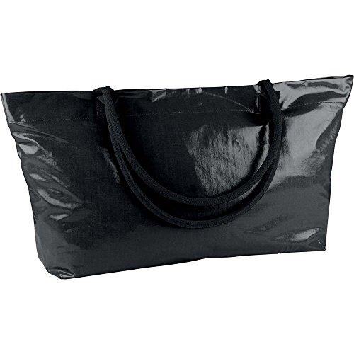Bade- oder Strandtasche im XXL-Format zum Baden u. Schwimmen, als Beach Bag, Shopper od. Sporttasche verwendbar,  in fünf versch. Farben erhältlich von notrash2003 (Schwarz) -