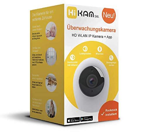 HiKam S6L Überwachungskamera HD WLAN IP Kamera + App