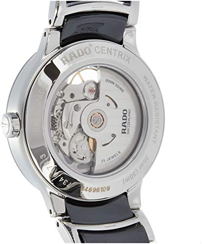 Rado Centrix Herren-Armbanduhr 38mm Armband Keramik Automatik Analog R30178152