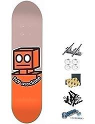 Monopatín skate skateboard Toy Machine TM 8.0 ROBOT complete