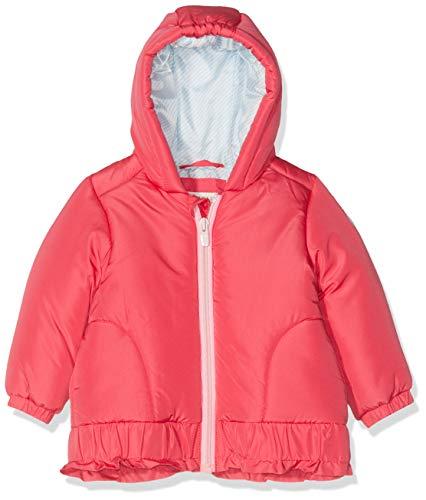 ESPRIT KIDS Baby-Mädchen Rp4200107 Outdoor Jacket Jacke, Rosa (Strawberry 342), (Herstellergröße: 74)