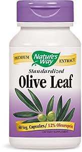 Natures Way Olive Leaf Std 60 Capsules
