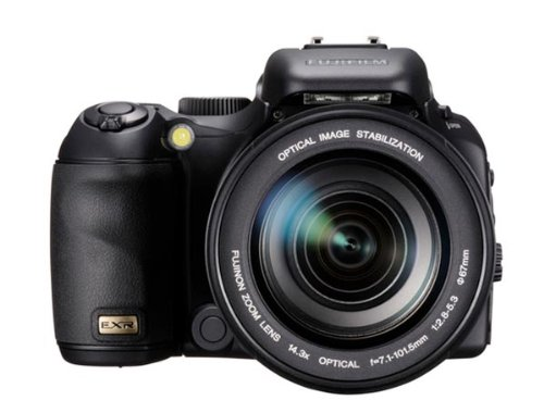 Fujifilm Finepix S200 EXR Digitalkamera (12 Megapixel, 14-fach opt. Zoom, 6,9 cm (2,7 Zoll) Display, Bildstabilisator) Schwarz (Fuji Exr Digitalkamera)