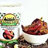 Badhusha Lazeez Pickles Stuffed Red Chilli Pickles, 300g