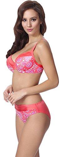 Feba Damen Push Up Bikini F21 Muster-310