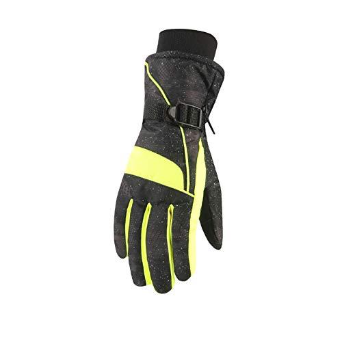 Touchscreen Handschuhe Damen Winter Wasserdicht Warmes Kaltes Wetter Verdickung Outdoor Ski Laufen Fahren Handschuhe Thermische Handschuhe Schwarz Freie Größe