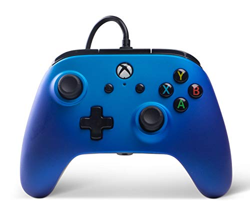 Enhanced Wired Controller for Xbox One - Sapphire