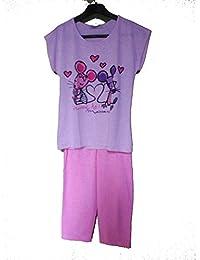 Pijama de verano niña Massana mod p161112
