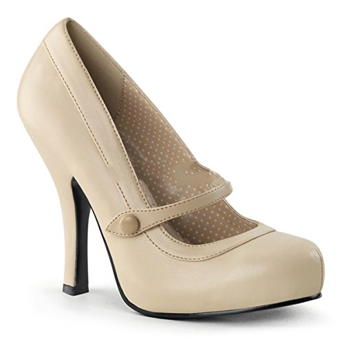 Pin Up Couture ,  Scarpe col tacco donna Beige Beige 37 (US-7)