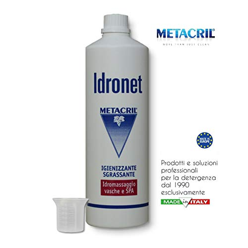 Desinfectante sanificante bañera hidromasaje-idronet