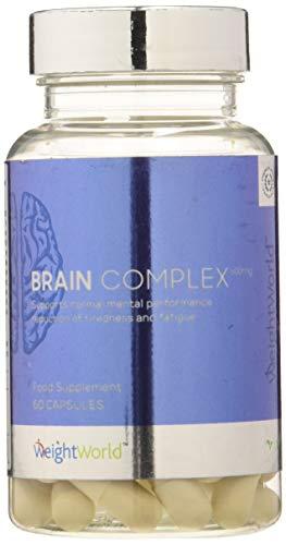 Brain Complex - 60 Capsule 100{47ef037ff047a03d56b7218688b16bbb6fd39c3b66a672a0fe74824c6164da00} Naturali - Integratore Nootropico per Memoria, Concentrazione, Focus - Vitamine e Minerali per Cervello e Funzioni Mentali - Vitamina B, Ginseng, Caffeina - WeightWorld