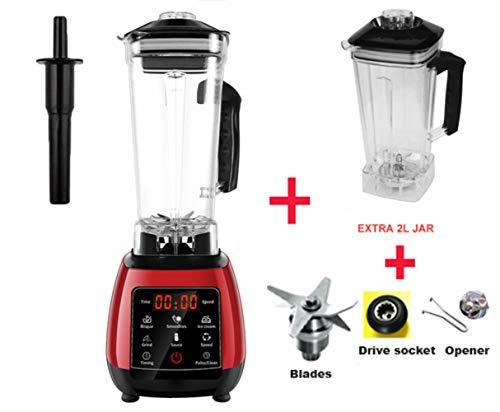 Digital automático Profesional 3HP BPA GRATIS Touchpad 2L Blender Mixer Exprimidor alimentos procesador...