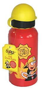 Bugzz Kids Stuff Fire Chief Drinks Bottle for children's lunch boxes