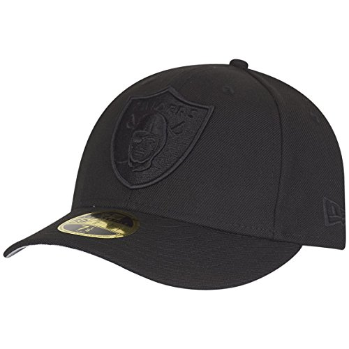New Era 59Fifty LOW PROFILE Cap - Oakland Raiders - 7 1/4 (Low-profile Baseball-hüte)