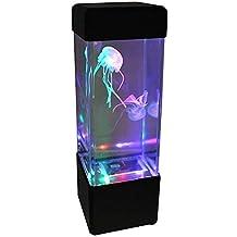 Newin Star Luz de fantasía medusas LED de color que cambia la luz 5 Jelly Fish