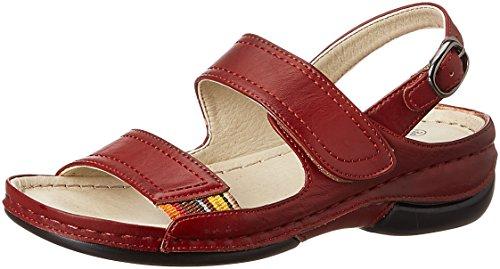 Action Shoes Women's Red Fashion Sandals - 7 UK/India (39 EU)(LS-1503)
