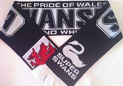 Swansea City FC Schal Fanschal Fussball Schal (Swansea Fc City)