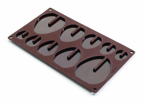 Lékué - Molde 3D para Pascua, diseño con 5 huevos, color marrón