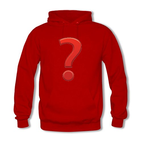 HGLee Printed Personalized Custom Emoji Stickers Classic Women Hoodie Hooded Sweatshirt Red--1