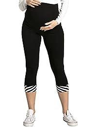 Happy Mama mujer premama leggings banda elástica para la barriga. 200p