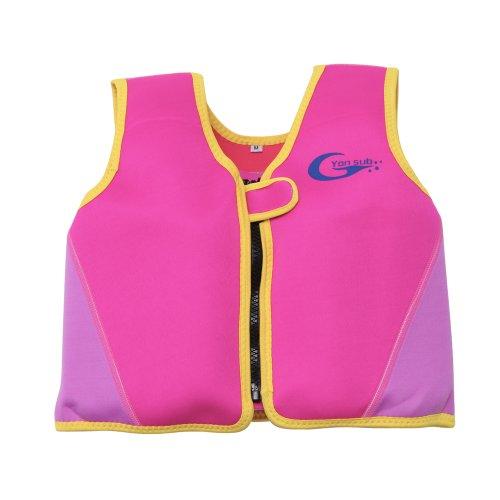 Schwimmweste Kinder Schwimmhilfe Floating Jacket Swimwesten 2-6 Jahre Alt