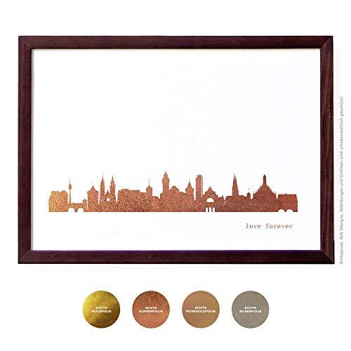 ter, 4 Metallic Farben DIN A4 A3 ()
