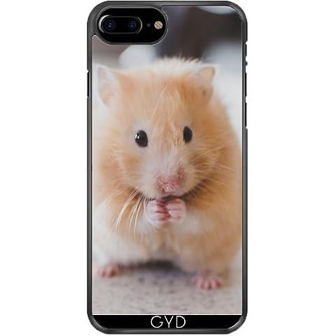 Funda de silicona para Iphone 7/7S Plus - Hámster Lindo Animales Mamíferos by Grab My Art