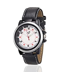 Yepme Crazer Men's Watch - White/Black -- YPMWATCH1257
