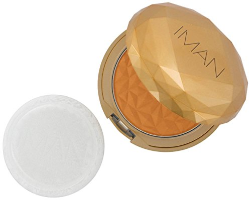 Iman Cosmetics Luxury Translucent Powder Clay Medium