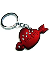 Shopiora Heart Shape Love Keychain For Him & Her Best Collectible & Gift Item