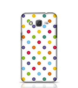 Samsung Galaxy J2 Phone Case for Colorful Polka Dots Back Cover for Galaxy J2 Multicolor