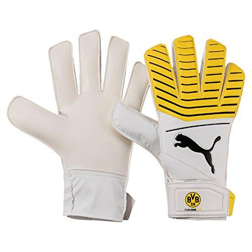 PUMA Bvb One Grip 17.4 Handschuhe, Cyber Yellow-Puma Black, 10