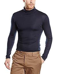 Trigema Herren Rollkragen-Shirt, Pull Homme
