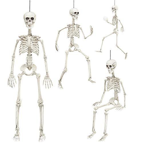 Widmann 04874 - Bewegliches Skelett, Größe Circa 90 cm