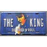 hotrodspirit D Nummernschild Elvis Presley King Rock Roll Kabelrinnen Deco Haus Fan