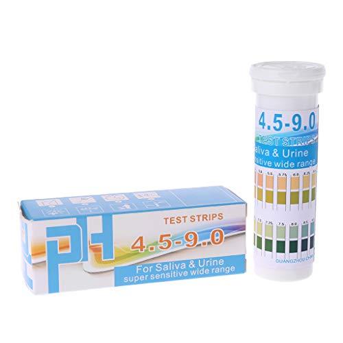 Qiman PH Testpapier Mit 150 Streifen In Flaschen PH 4,5-9,0 Für Urin- Und Speichelanzeige
