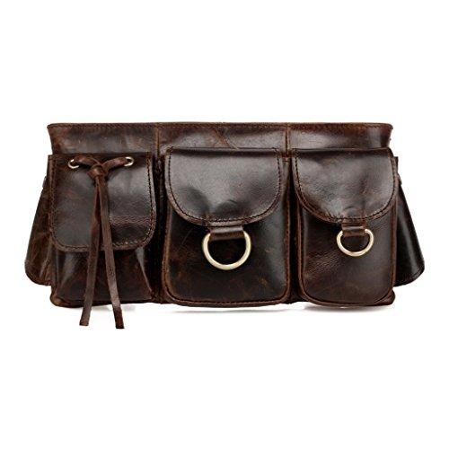 vintage-distressed-antique-brown-leather-waist-bag-fanny-pack-waist-hip-purse