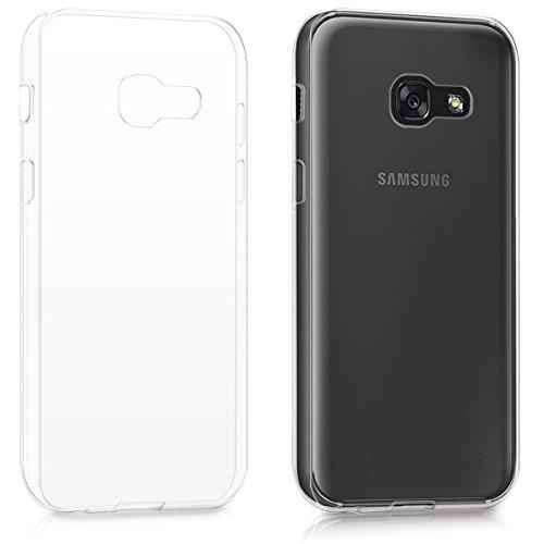 kwmobile Samsung Galaxy A3 (2017) Hülle - Handyhülle für Samsung Galaxy A3 (2017) - Handy Case in Transparent