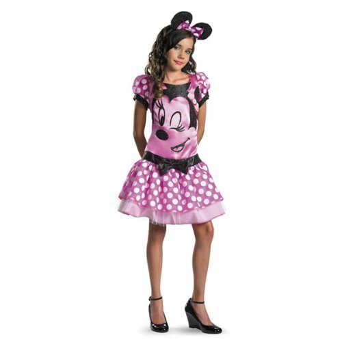 Disguise 187309 Mickey Mouse Clubhouse-Rosa Minnie Mouse Kinder-Kost-m (Mickey Mouse Kostüme Clubhouse)