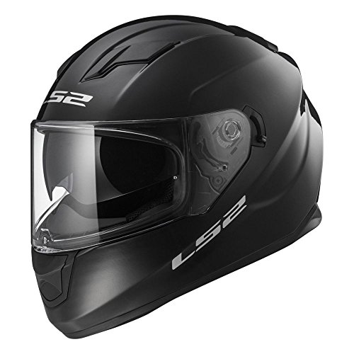 LS2 103201012S FF320 Casco Stream Solid, Color Negro, Tamaño S